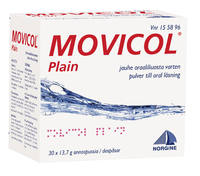 MOVICOL PLAIN (100 kpl)