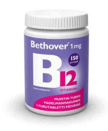 BETHOVER 1 MG B12-VITAMIINI (150 TABL)