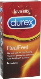 Durex Real Feel kondomi (6 kpl)