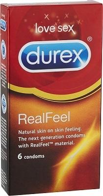 Durex Real Feel kondomi (6 kpl)
