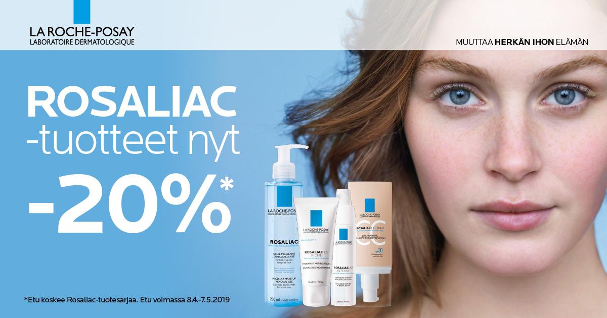 Rosaliac-tuotteet -20%