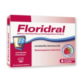 Floridral vadelma annosjauhe (6x6