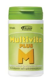 Multivita Plus Monivitamiini (100 tabl)