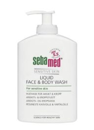 SEBAMED FACE & BODY WASH (300 ml)