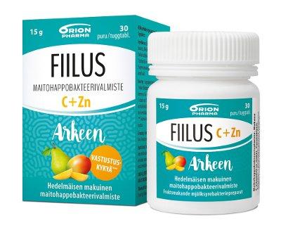Fiilus arkeen C+Zink chew (30 kpl)