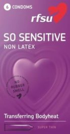 So Sensitive - lateksiton kondomi (6 kpl)