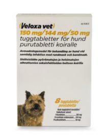 VELOXA VET 150/144/50 mg (8 fol)