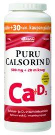 PURU CALSORIN D 20 MIKROG TABL (130 kpl)
