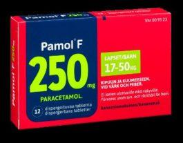 PAMOL F 250 mg (12 fol)