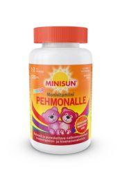 Minisun Pehmonalle Monivitamiini Junior (120 kpl)