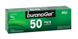 BURANAGEL 50 mg/g (50 g)