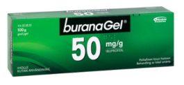BURANAGEL 50 mg/g (100 g)