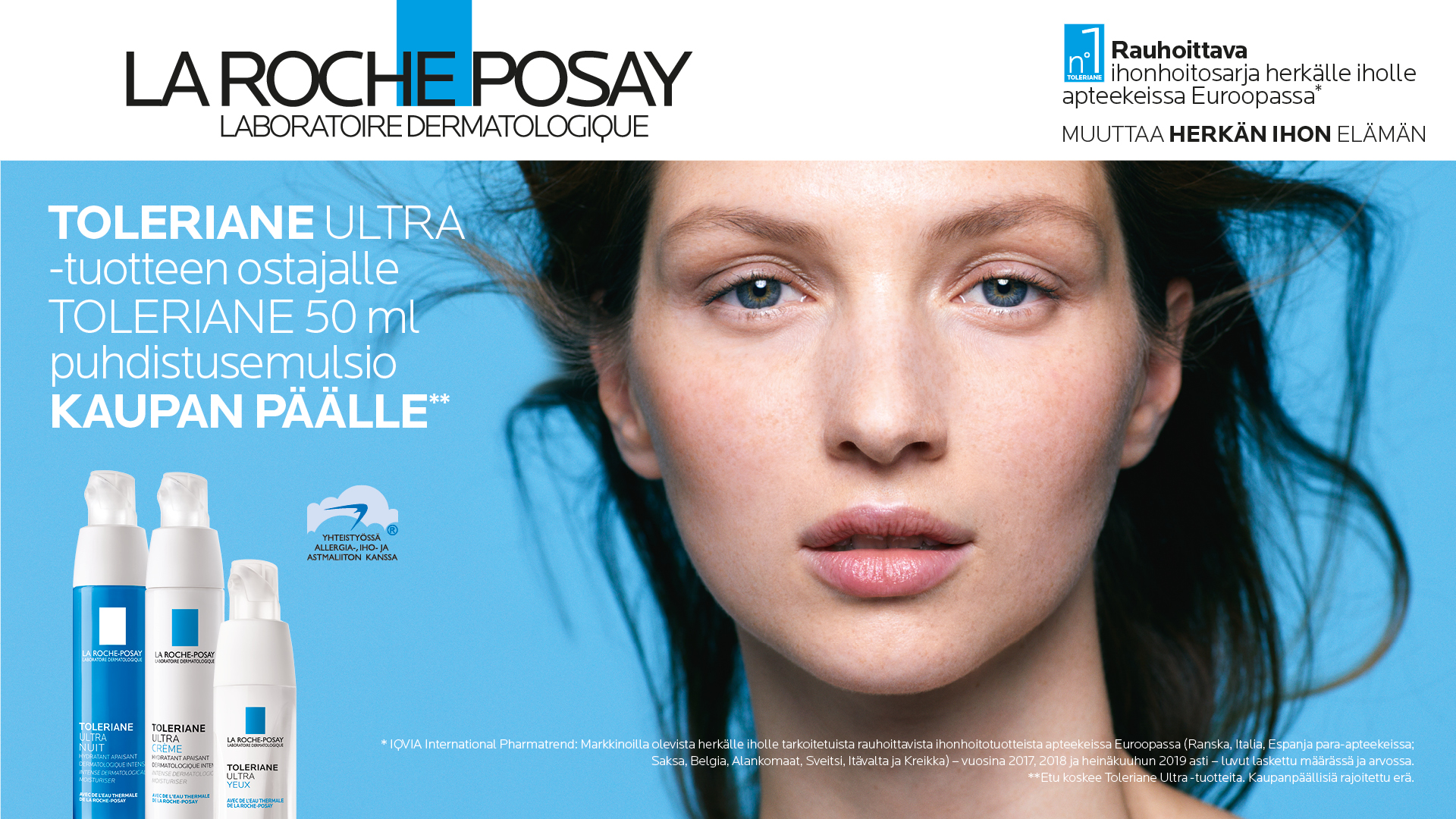 La Roche-Posay Toleriane kampanja