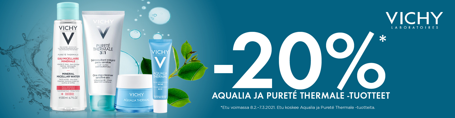 Vichy Aqualia Thermal & Pureté Thermale -20 %