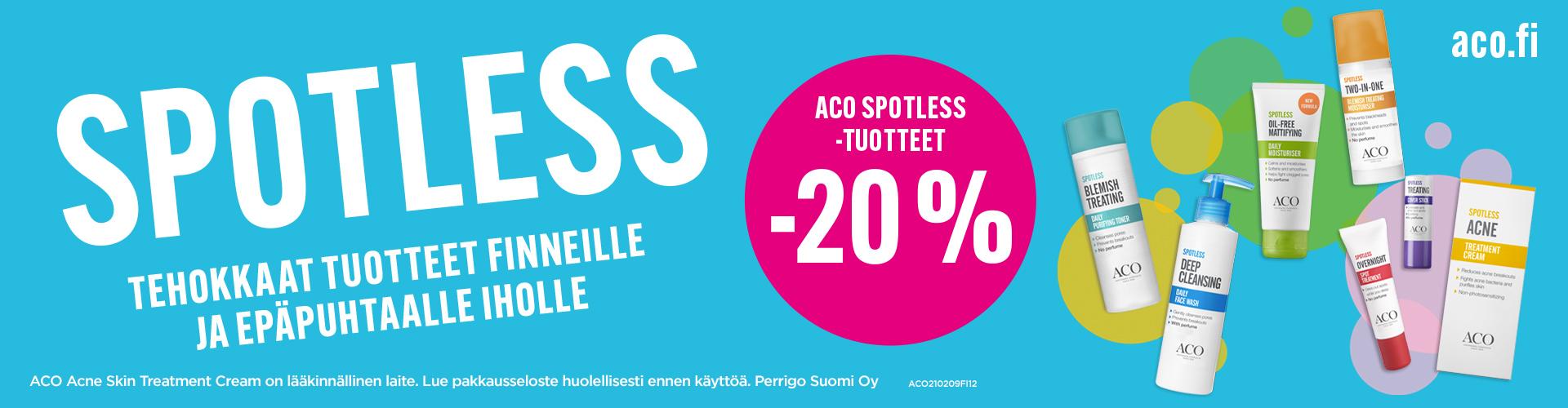 ACO Spotless -20 %