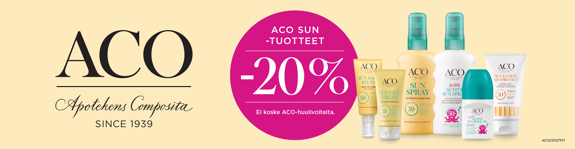 ACO Sun -20 %