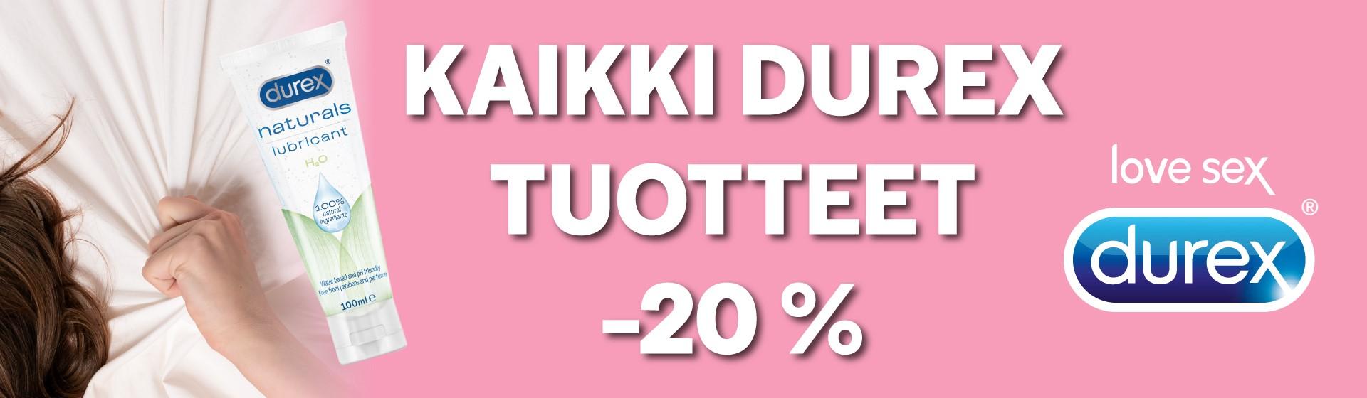 Durex tuotteet -20 %